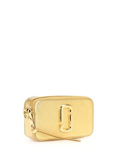 Marc Jacobs Marc Jacobs Snapshot DTM Small  Kadın Deri Omuz Çantası 101484949 Altın